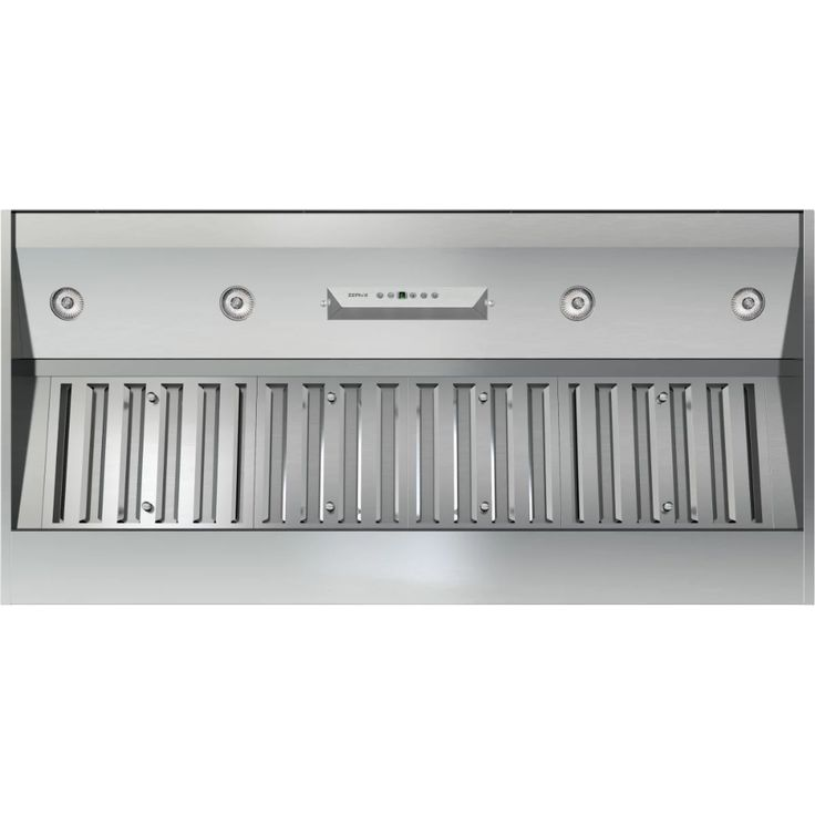 Zephyr Ak9340as Stainless Steel 450 1200 Cfm 42 Inch Wide Insert Range Hood With Halogen Lighting And Elect In 2021 Stainless Range Hood Range Hood Ducted Range Hood