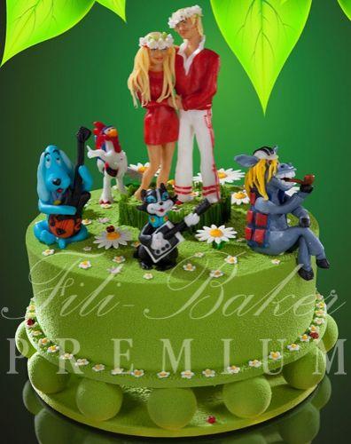 """Торт """"Бременские музыканты"""" - фото Fili Baker Premium"""