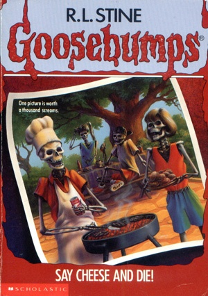 R.L. Stine- Goosebumps!  i use to love these books as a kiddo