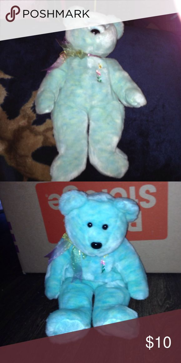 Beanie buddy collection. Aqua blue beanie buddy. beanie buddies collection. Other