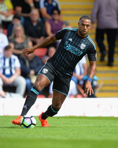 Matt Phillips of  West Bromwich Albion during the Pre-Season Friendly match between Kidderminster Harriers and West Bromwich Albion at Aggborough Stadium on July 16, 2016 in Kidderminster, England.