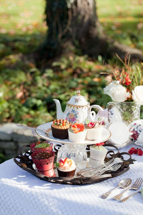 13 Best Images About Autumn Tea Party On Pinterest