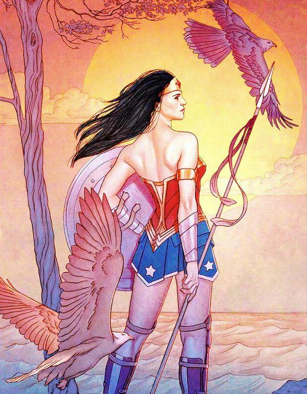Wonder Woman #9 Variant - Jenny Frison