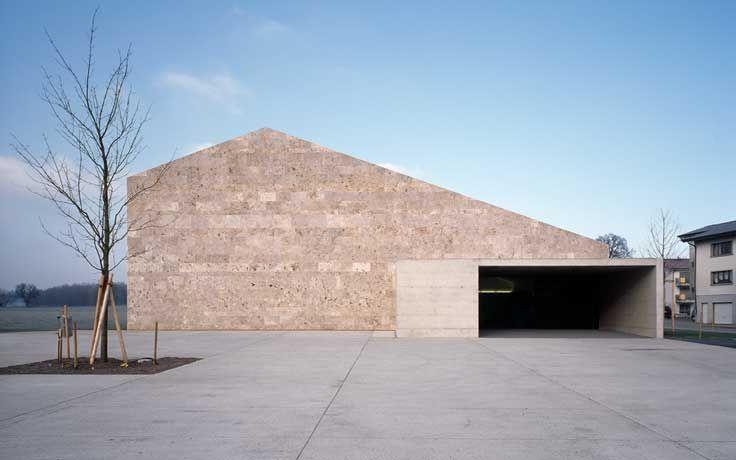 Bâtiment communal et  salle de spectacle   Corpataux-Magnedens CH