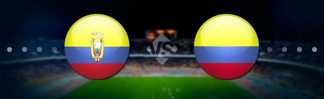 Эквадор - Колумбия. Прогноз на матч 29.03.2017 http://ratingbet.com/prognoz/all/4757-ekvador-kolumbiya-prognoz-na-match-29032017.html   Бесплатный прогноз на матч Эквадор - Колумбия, который состоится 29 марта 2017