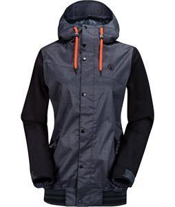 $180 Volcom Billie Snowboard Jacket Brushed Nickel