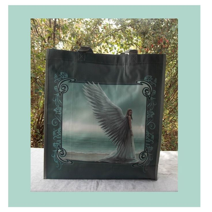 ANNE STOKES SHOPPING BAG SPIRIT GUIDE I COOL CAT COLLECTABLES