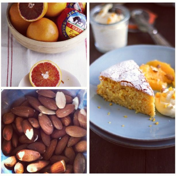 Orange and Almond Cake for World Baking Day!