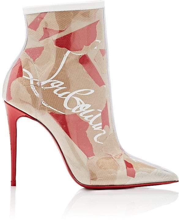 0ee0f04ebffd Christian Louboutin Women s So Kate PVC Ankle Boots
