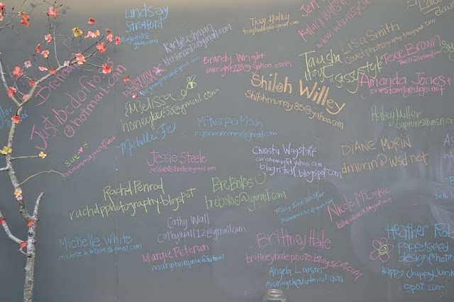 Giant chalkboard sign in wall: 365 Swap Anyone, Swap Round, 365 Ideas, Parties Ideas, Events Ideas