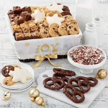 Mrs. Fields® Christmas Cookie Gift Basket. See more gifts at www.pro-gift-baskets.com!