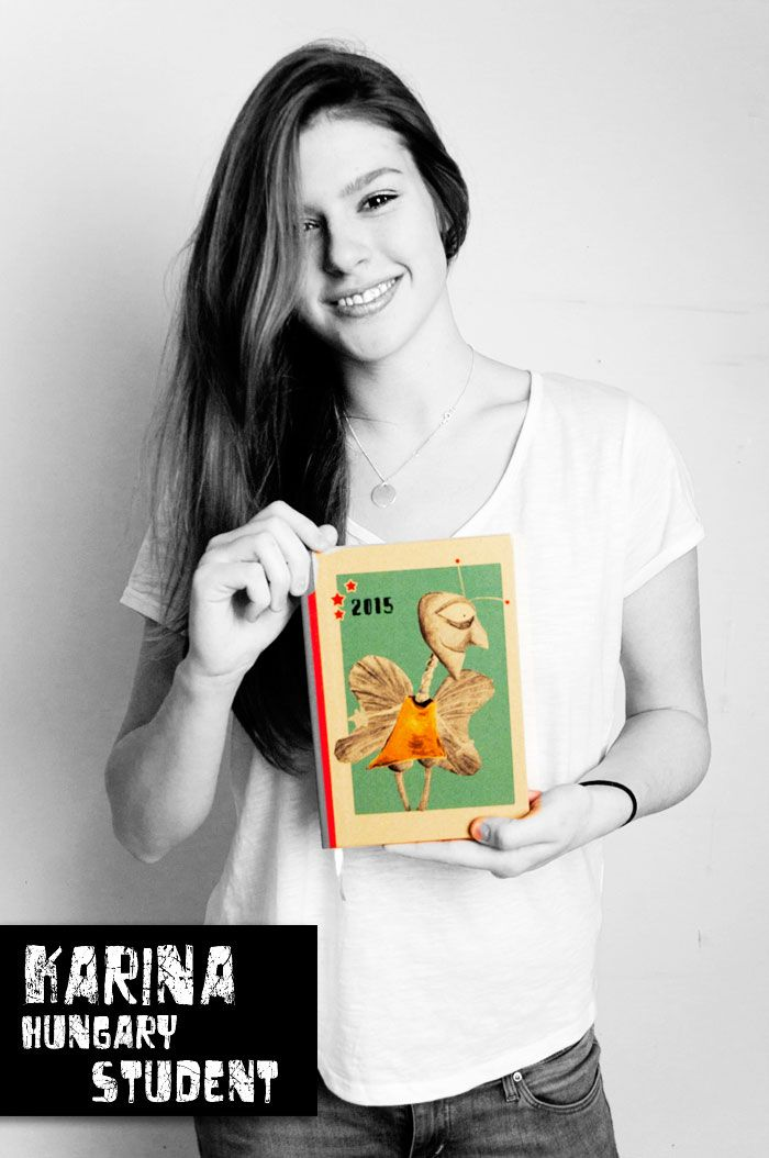 "Karina & her Deluxe Dollz 2015 ""Insect Parent"" diary"