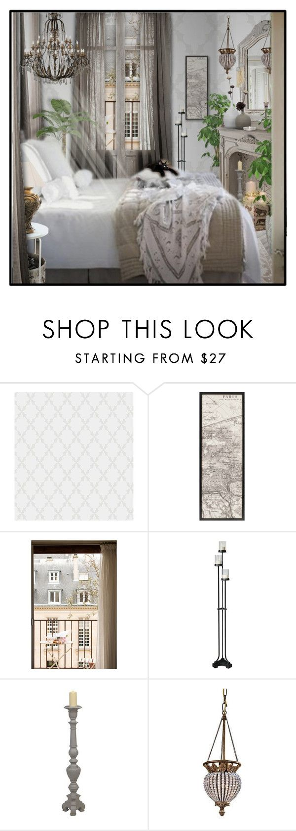 """""""Paris Apartment"""" by signaturenails-dstanley ❤ liked on Polyvore featuring interior, interiors, interior design, home, home decor, interior decorating, Loloi Rugs, Uttermost, Home Decorators Collection and Ivanka Trump"""