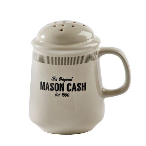Saupoudreuse en grès pour farine Baker Street Mason Cash