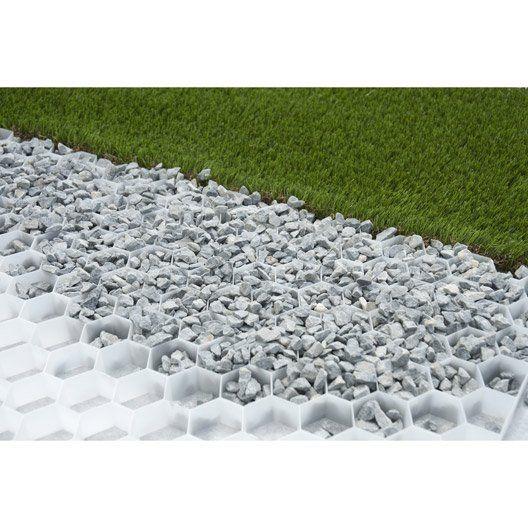 Dalle stabilisatrice pour gravier Easy gravel, 80x120 cm