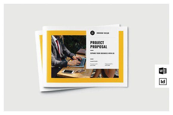 Proposal Landscape by Occy Design on @creativemarket #proposal #brochure #stationery #webdesign #graduation #journal #landscape #portfolio