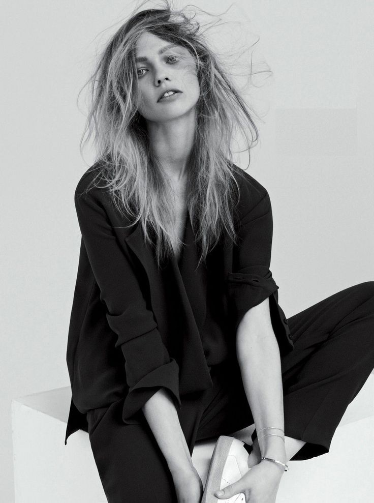 editorial in Vogue UK July 2014 with Sasha Pivovarova