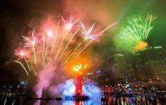 Darling Harbour Fireworks on Australia Day