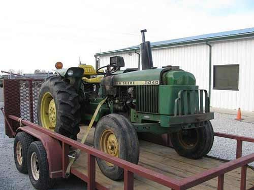 John Deere 2040 tractor. Salvaged for used parts. All States Ag Parts 877-530-4430 http://www.TractorPartsASAP.com