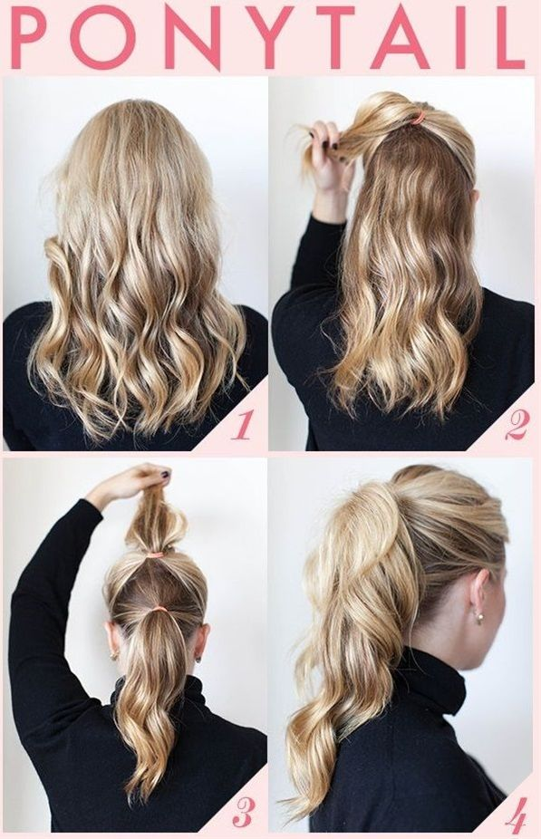 ponytail hairstyle tutorial