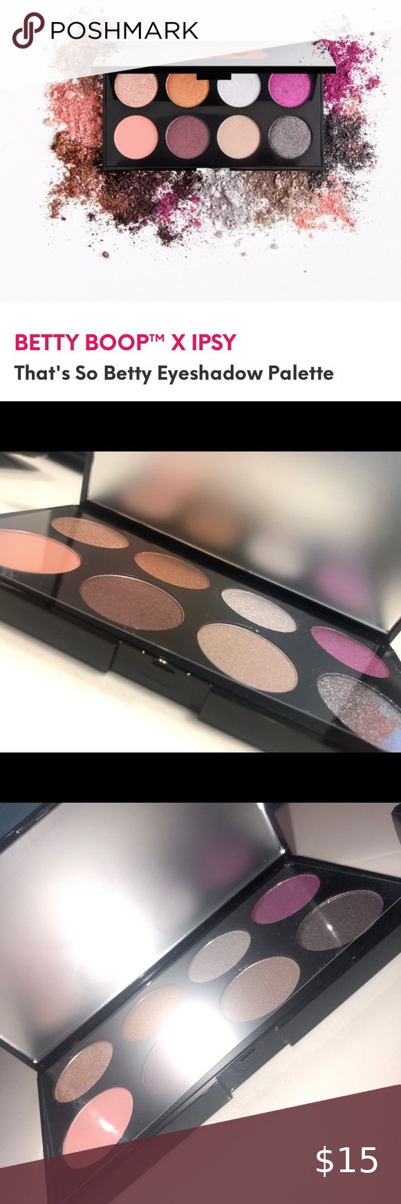 Betty Boop x Ipsy Eyeshadow palette brand new in 2020