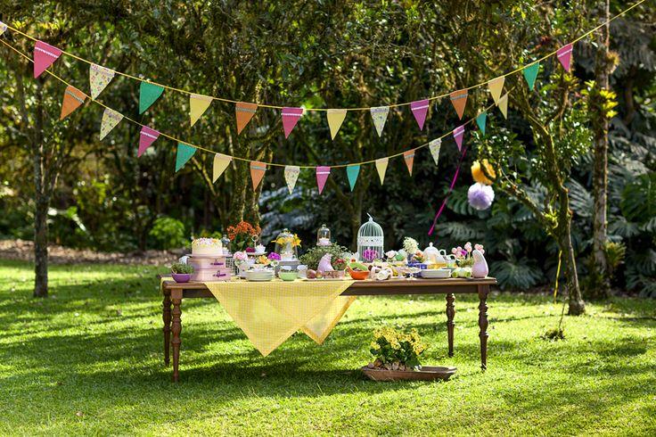 decoracao festa quintal:Antes tarde do que nunca: Festinhas infantis ao ar livre