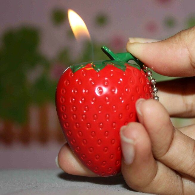 My strawberry lighter