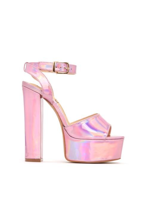 38031fcdffa I Know I Can Heel - Pink Iridescent | fancy in 2019 | Pinterest ...