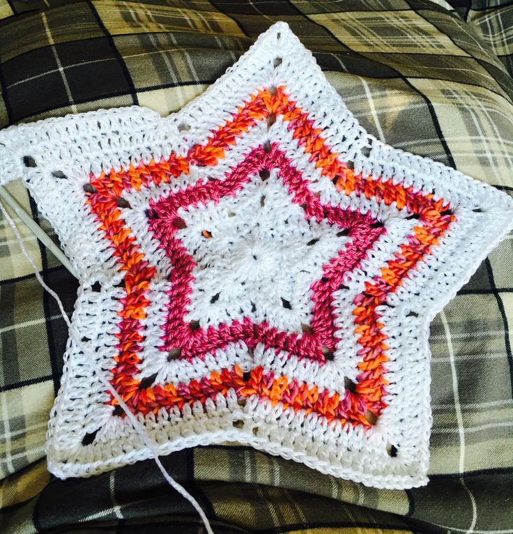 First attempt at Star blankets :)