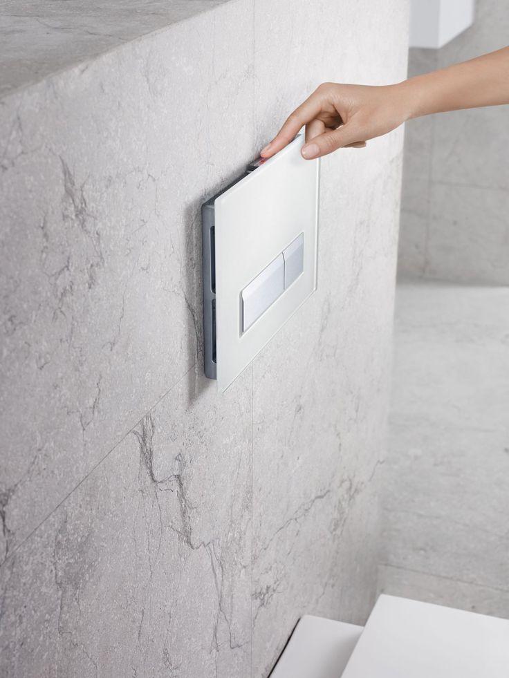 Geberit Sigma40: Herkes için temiz hava sağlayan, kötü kokuları yok eden, havayı tazeleyen ödüllü tasarım.