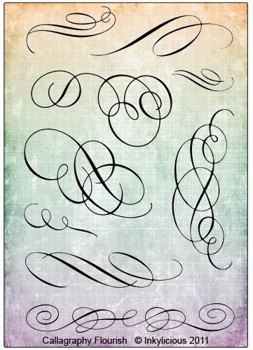 Calligraphy Flourish is creative inspiration for us. Get more photo about home decor related with by looking at photos gallery at the bottom of this page. We are want to say thanks if you like to share this post to another people via your facebook, pinterest, google plus or twitter …