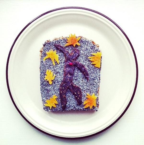 Matisse toast | Idafrosk
