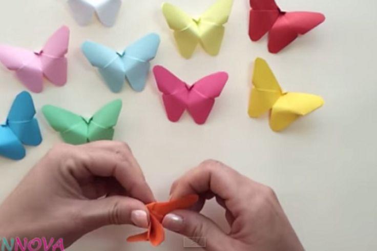 Bricoler de mignons papillons de papier!