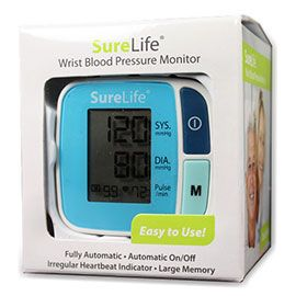Sure Life Wrist Blood Pressure Monitor. Our Price: $20.99