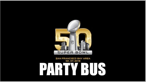 Super Bowl 50 is coming up soon! Getting to the game isn't going to be easy, so why not ride down on a comfortable bus while enjoying a few drinks along the way? Bus Schedule: BUS TO Levi's S…