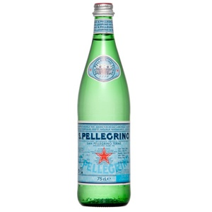 San Pellegrino Water--first carbonated water I ever liked!!