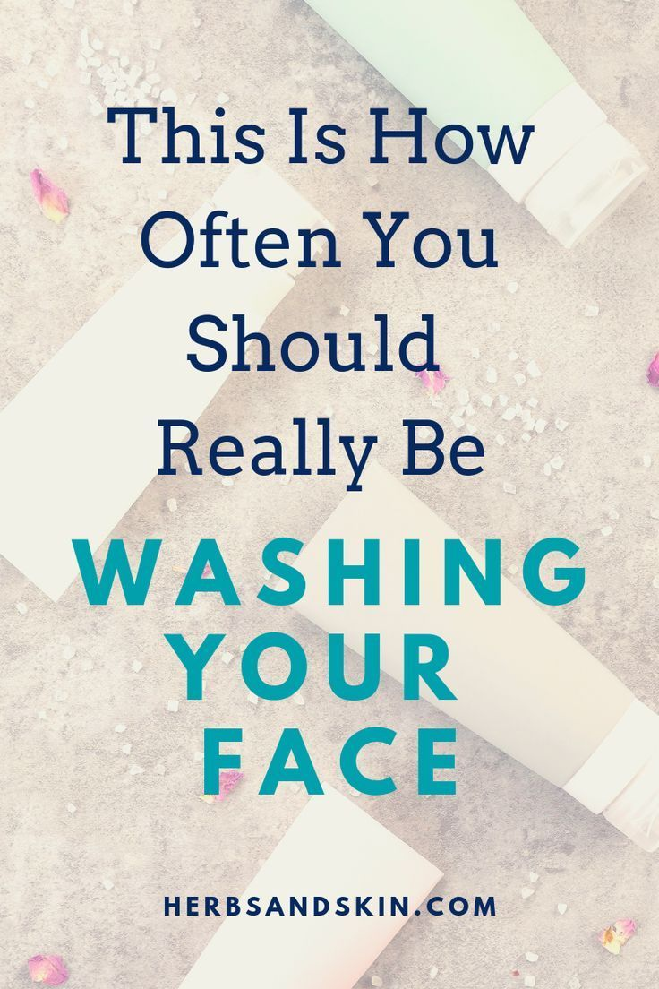 So oft sollten Sie sich wirklich das Gesicht wasch…