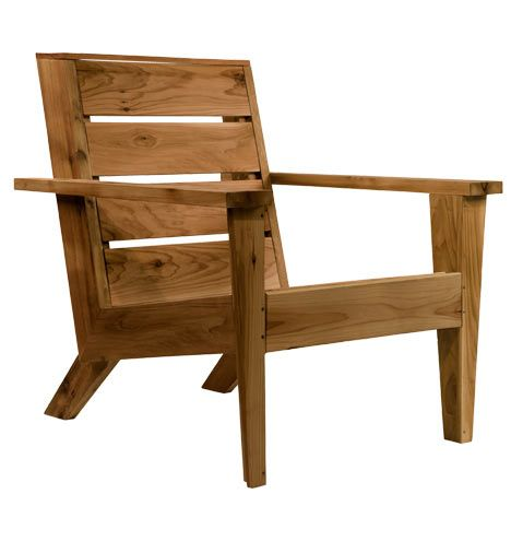 Modern+Cedar+Wood+Adirondack+Chair+