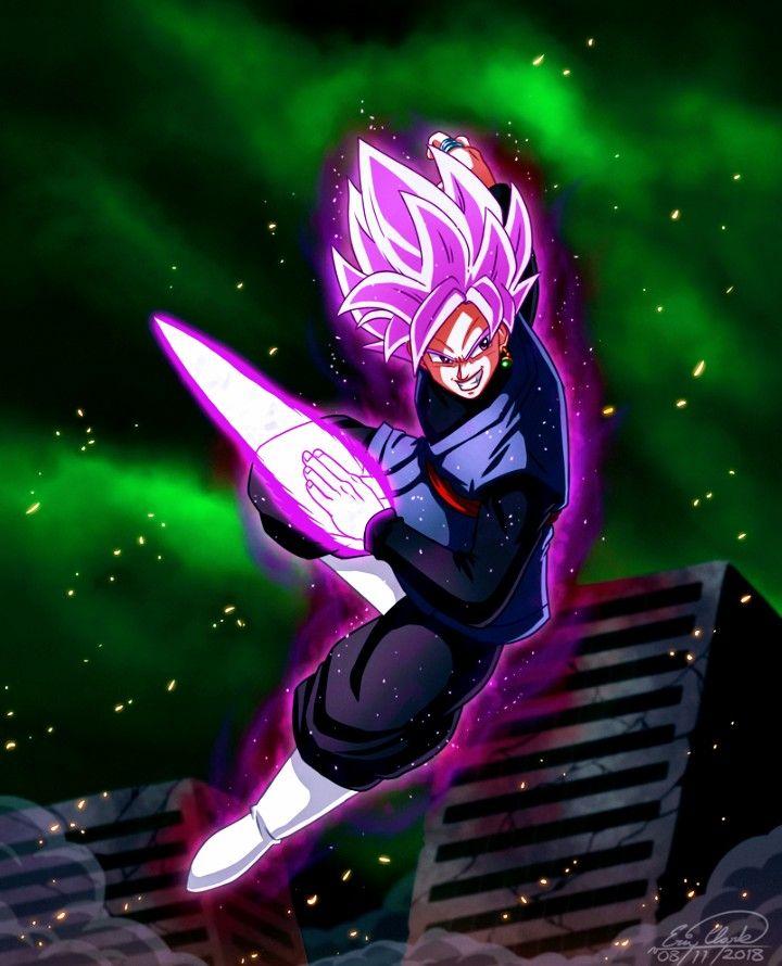 Goku Black By Son Goku On Goku Black Zamasu Dragon Ball Art Goku