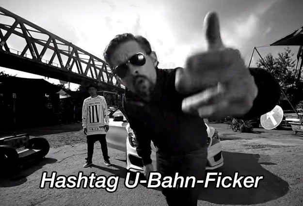 Als Joko & Klaas mit Eko Fresh einen Song über den U-Bahn-Ficker machten.
