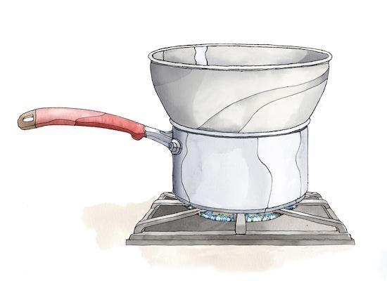 How to make a DIY Double Boiler