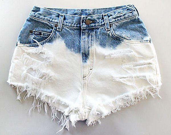 Shorts desteñidos 1