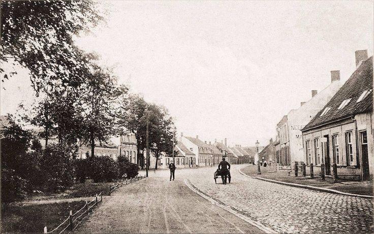 117 Wilhelminapark 1910 Richting Veldhovenstraat.