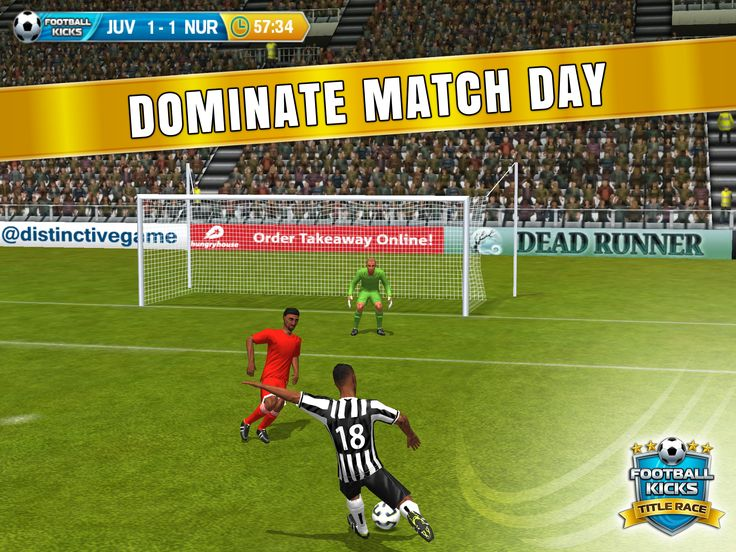 Use your super swipe skills to crush the opposition - you control what happens on and off the pitch.
