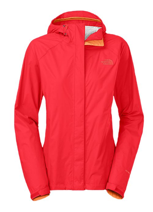 Venture Jacket in Melon Red by The North Face