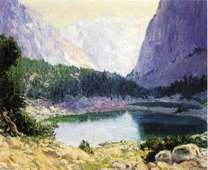 `twin` lacs, haute sierra - (Guy Orlando Rose)