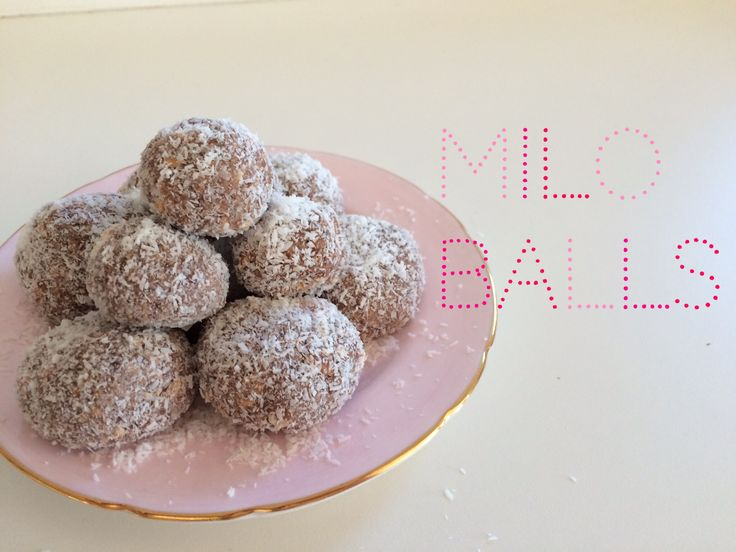 4 Step Milo Balls