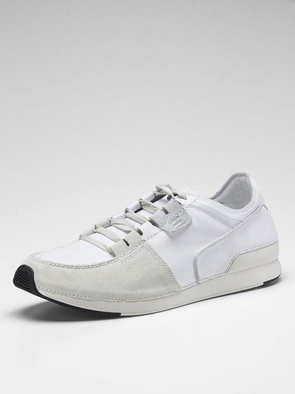 adidas SLVR Anniline Leather Low Top Sneakers