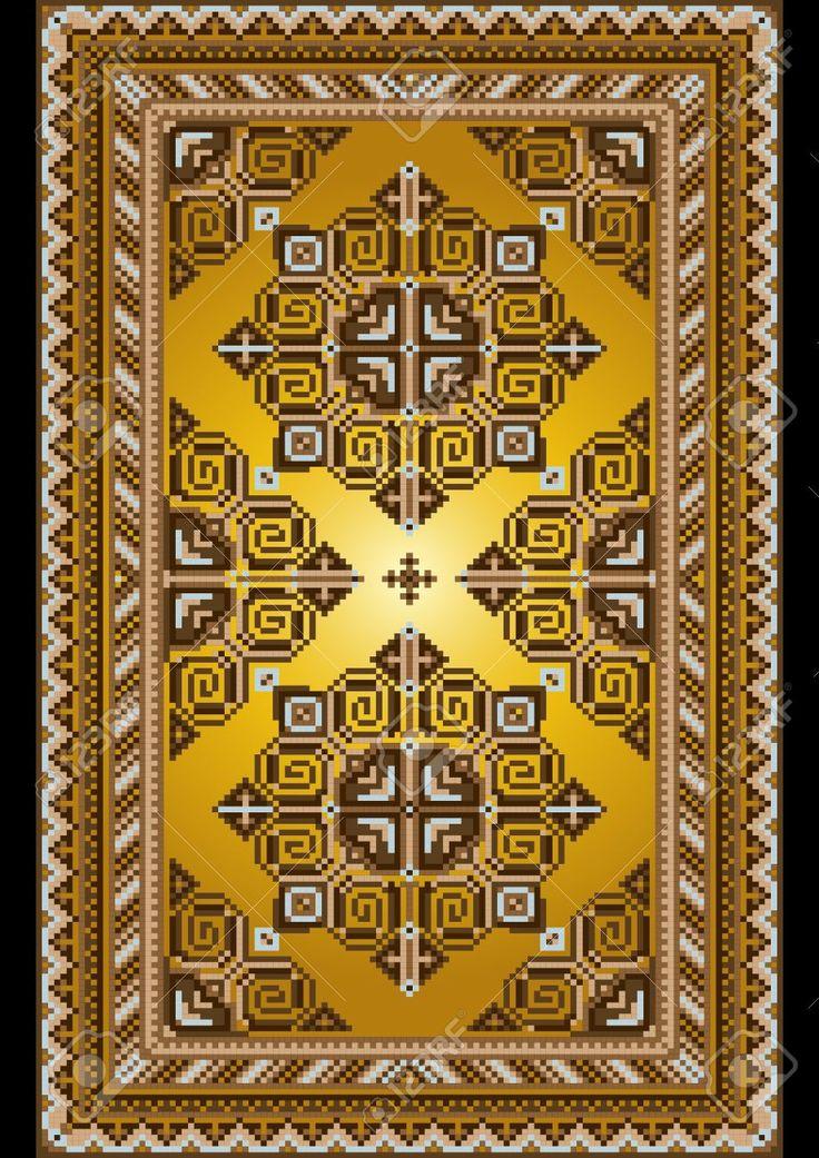 Bright Mattan I Gammal Stil Med En Guld- Bakgrund Royalty-Fri Clipart, Vektorer Och Stockillustrationer. Image 19982080.