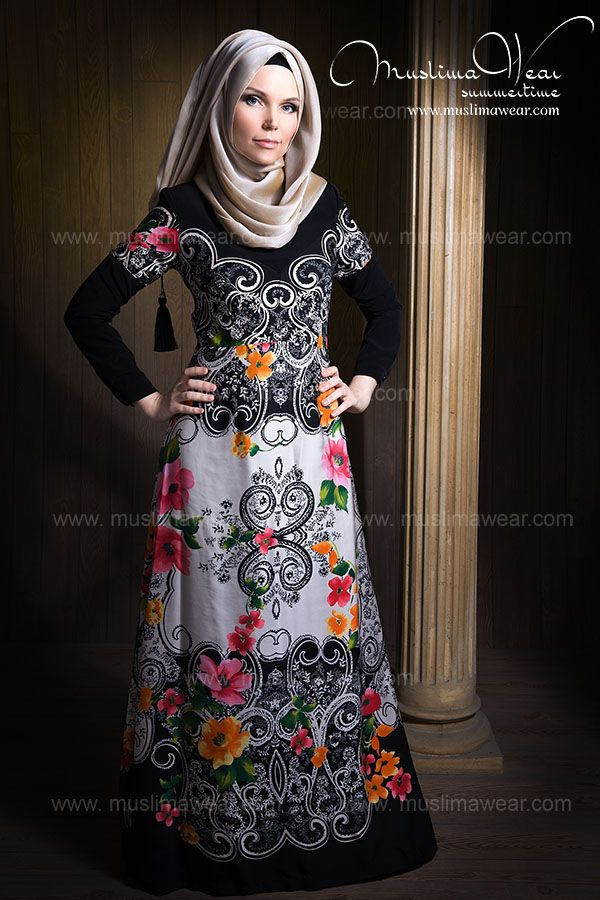 Hijab Style by Muslima Wear Summertime Collection www.muslimawear.com